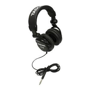 Tascam-TH-02-Recording-Studio-Headphones-Black