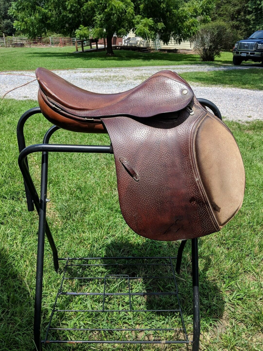 17  Crosby English Saddle