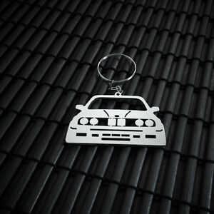 BMW 3 E30 Stainless Steel Keychain