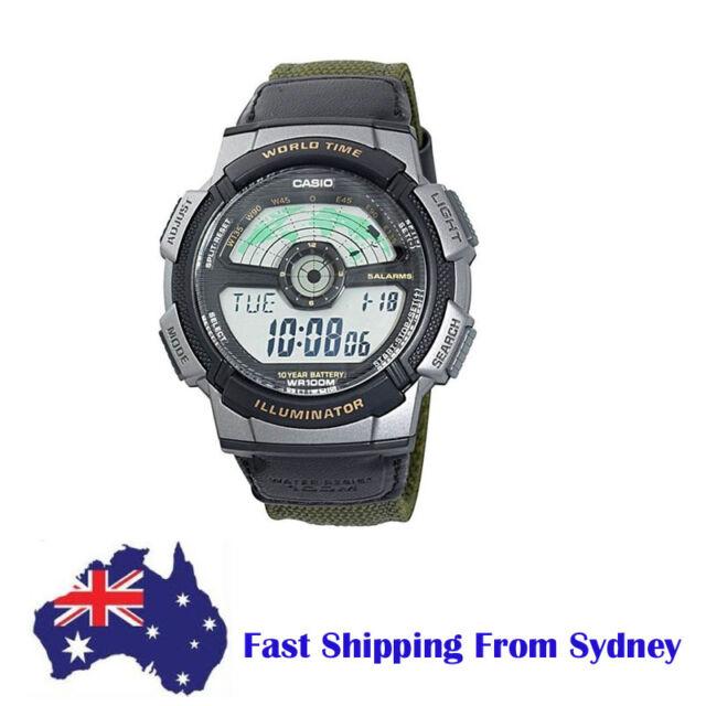 NEW Genuine Casio Mens Sport Multi-Function Watch
