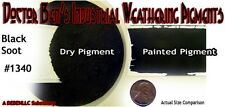 BLACK SOOT Weathering Pigment/Paint/Stain 2oz-Doctor Ben's READY-TO USE HO/N