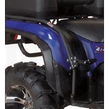 ARCTIC CAT ATV FENDER GUARD PASSENGER FOOT PEGS DOUBLE RIDE 400 2013-2015