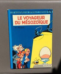 Spirou-et-Fantasio-n-13-Le-voyageur-du-mesozoique-Dupuis-1972-Re-dos-rond