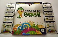 PANINI WM 2014 WC Brazil - 20 Tüten Platinum + Album Edition Schweiz Neu/Megarar