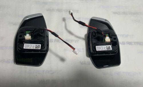 Schaltwippen Satz 8W0951523S Audi A1 A4 A5 8W Q7 4M DSG Schaltpaddel DSG Paddels
