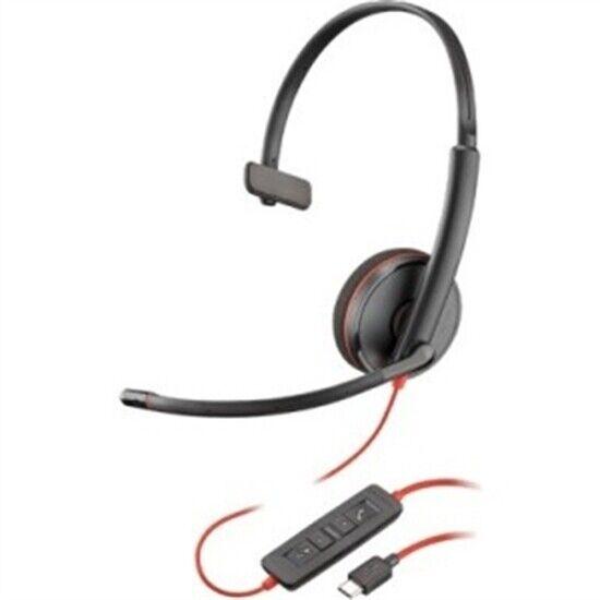 Plantronics 209748 101 Blackwire C3210 Headset Usbc 209748101 For Sale Online Ebay