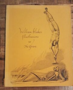 Details About William Blakes Illustrations To The Grave A Poem 1969 Softcover