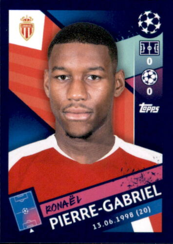 Topps Champions League 18/19 Ronael Pierre-Gabriel Sticker 336