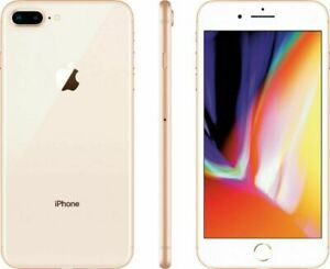 Apple iPhone 8 Plus 64GB Oro Sbloccato A1897 (GSM) Sim gratis 12M Garanzia