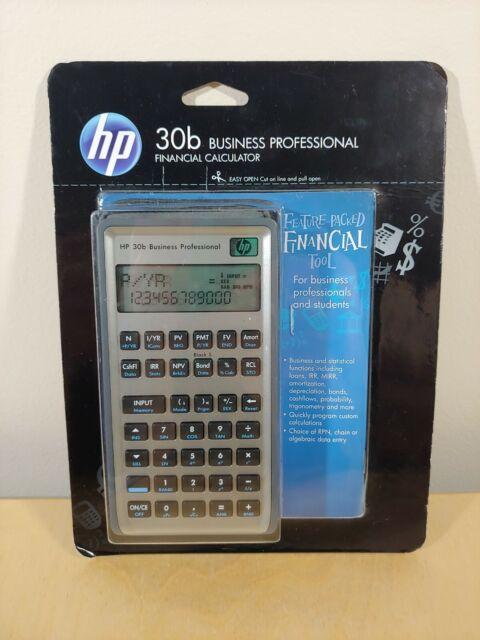 HP 30B Financial Calculator for sale online   eBay