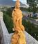 Chinese-Boxwood-Wood-Carving-Guan-Yin-Ride-Dragon-Goddess-Bodhisattva-Statue thumbnail 4