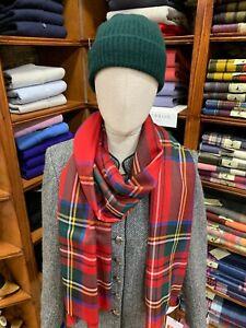 100-Pure-New-Wool-Pashmina-Lochcarron-Made-in-Scotland-Royal-Stewart