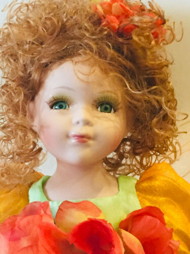 Fairy Porcelain doll-Limited Ed Collectible Fairy Porcelain Dolls New On Sale