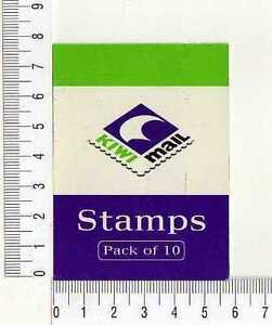 12054) New Zealand Complete Booklet Kiwi Mail S/A - MNH