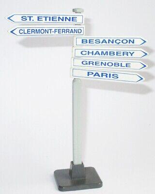 CoöPeratieve Playmobil Wegweiser Komplett Schilder Schild Paris St.etienne Grenoble Aus 3847 Een Effect Produceren Voor Een Heldere Visie