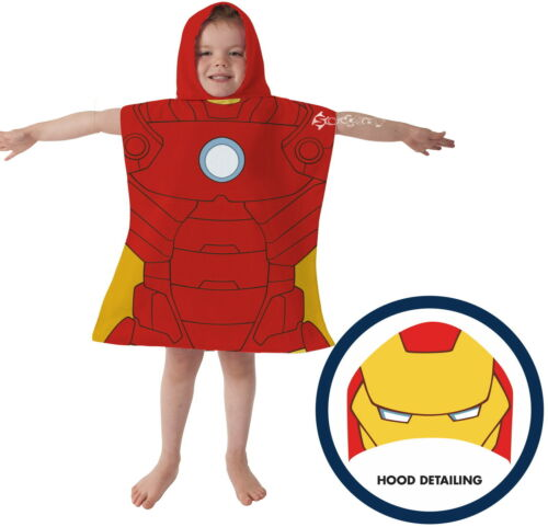 Official Marvel Avengers Poncho Hooded Towel New Gift Dress Up Age of Ultron