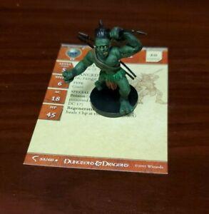 Figure with card 21//60 Ibixian DDM D/&D Minis x1 Deathknell Dungeons /& Dragons