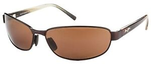 NEW-Maui-Jim-Napili-Bay-Matte-Espresso-HCL-POLARIZED-Lens-Sunglasses-men-womens