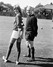 "Cilla Black / Bill Shankly Liverpool 10"" x 8"" Photograph no 38"