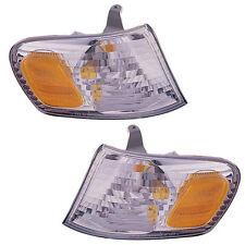 Brand New Pair of Corner Light Left & Right Fits 2001-2002 Toyota Corolla