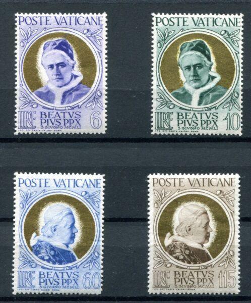 1951.vaticano.yvert 163/66*.nuevos Con Leve Fijasellos.(mh).catalogo 25 €