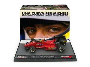 Brumm Ferrari 126 C4 Alboreto 1984 UNA CURVA PER MICHELE 1/43 S21/12 100 PCS