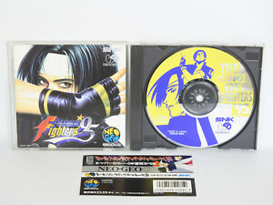 Neo-Geo-CD-THE-KING-OF-FIGHTERS-95-with-SPINE-CARD-Neogeo-SNK-KOF-Japan-nc
