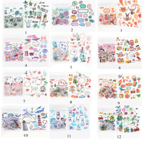 Shape Stationary Scrapbooking Stickers Paper Sticker Scrapbooking Diary Label