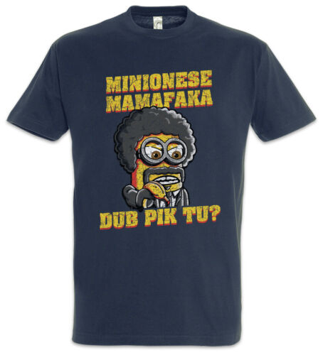 Jules Mamafaka T-Shirt Pulp Minions Geek Nerd Banana Fiction Winnfield Fun