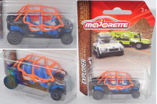 Blu MAJORETTE 212057601 POLARIS RZR ® XP 4 1000 EPS Nero Explorer Arancione