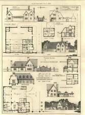 1913 Bndc Design And Plans For Motor Garage Chauffeurs Lodge
