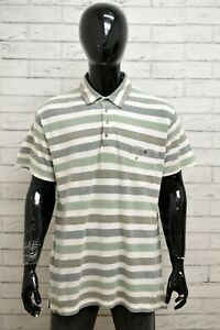 Polo-WRANGLER-Uomo-Taglia-XL-Maglia-Maglietta-Camicia-Shirt-Man-Cotone-a-Righe