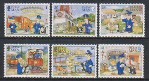 Isle-von-Mann-1994-Postman-Pat-Set-MNH-Sg-614-19