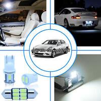 11x Bright White Led Interior Light Package Kit For Infiniti G35 Sedan 2003-06