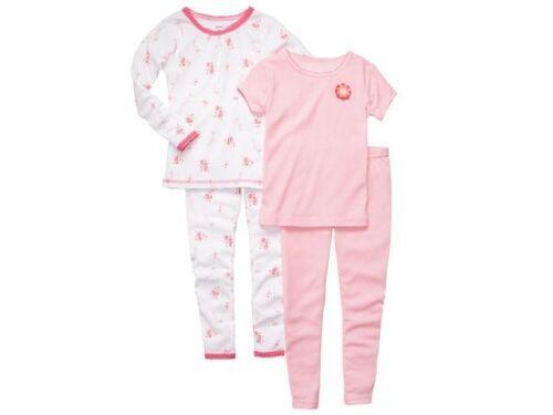 Carter/'s Toddler Girls 4-PC PJ Pajama Set~Ballerina Floral Polka Dot 18M 24M NWT