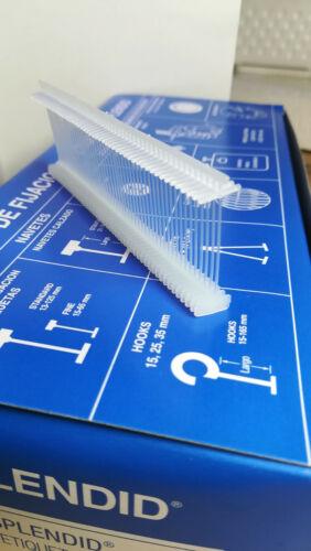 Navetes Splendid Standard 50mm Nylon Cajas 5.000 unidades