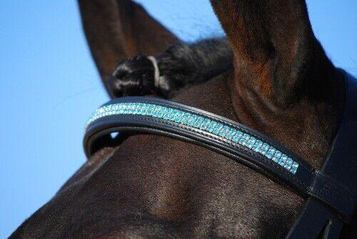 BB Stirnriemen mit blauen Strasssteinen Strasssteinen Strasssteinen 537537