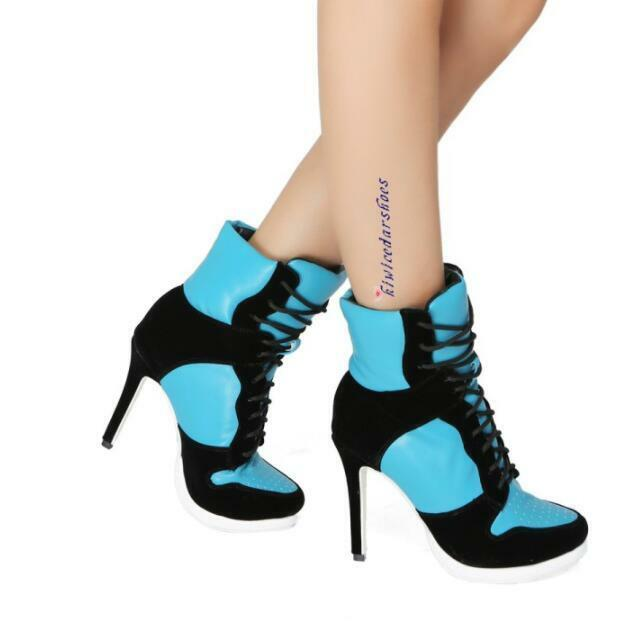 Womens Punk Sexy Sexy Sexy European Motorcycle Boots Stilettos High Heel shoes Sz35-47 0e0f9c