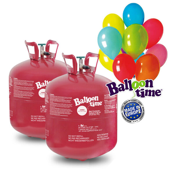 ELIOPARTY - Bombola gas Elio EXTRALARGE per 100 palloncini MATRIMONIO COMPLEANNO
