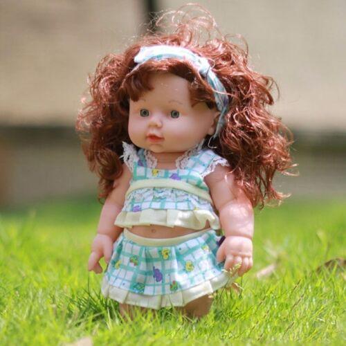 11/'/' Reborn Baby Girls Dolls Toys Realistic Vinyl Handmade Newborn Lifelike baby