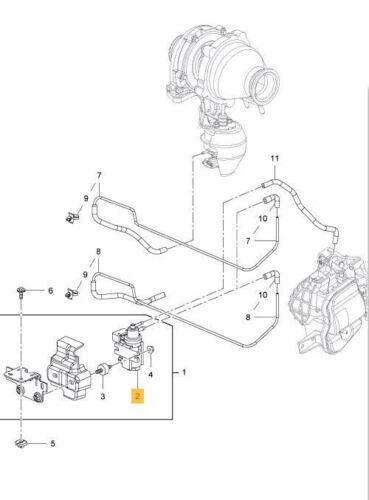 Electro Pneumatic Solenoid Valve for Vauxhall Insignia,Astra,Corsa,Meriva,Zafira