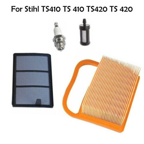 Air Fuel Filter For Stihl TS410 TS420 Concrete Carb Cut-Off Saw 4238 140 1800