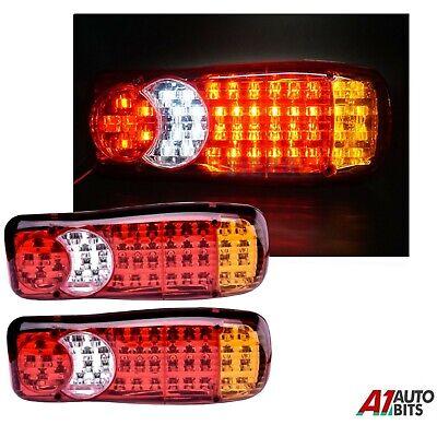 Rear Led Lights 12v 2x For Citroen Daf Lf Fiat Iveco Opel Nissan Peugeot Renault Ebay