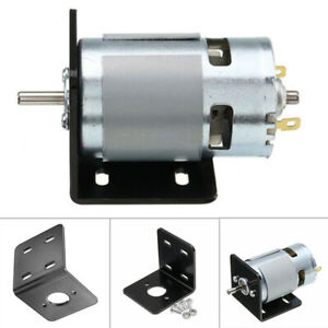 Double-Ball-Bearing-Electric-775-Motor-With-L-type-Mounting-Bracket-Accessories
