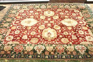Details About 4500 John Lewis Handmade Persian Agra Ziegler Vegetable Dye Rug 310 X 250 Cm