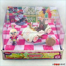 Disney Pixar Wreck-It Ralph Sugar Rush King Candy Racer figure with car new