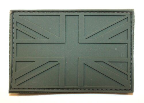 Morale Police MOD Airsoft Olive Subdued Union Jack Patch Tactical Badge