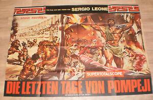 A0 Filmplakat  DIE LETZTEN TAGE VON POMPEJL.SERGIO LEONE,STEEVE REEVES