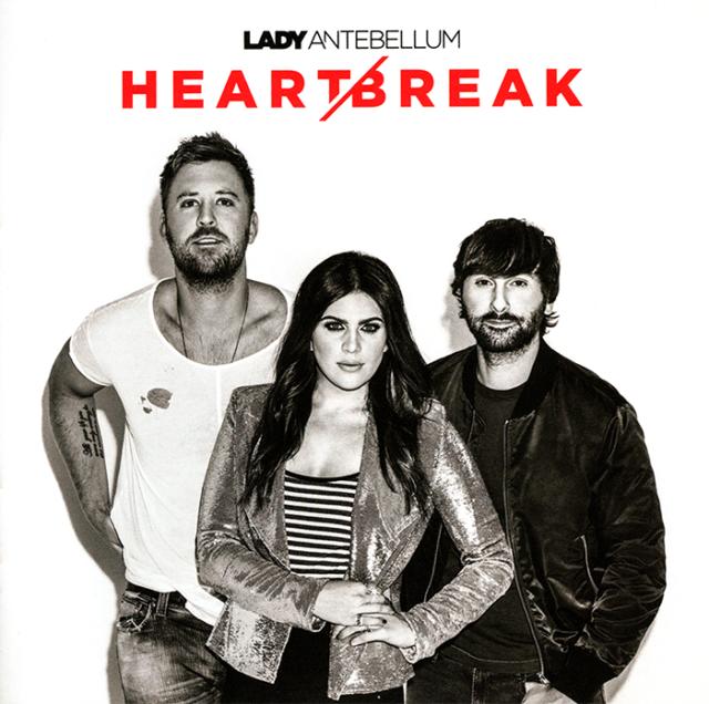 Lady Antebellum - Heart / Break CD 2017 Capitol Records Nashville  •• NEW ••