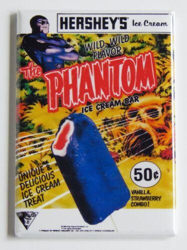 "The Phantom Ice Cream FRIDGE MAGNET sign bar popsicle /""style A/"""